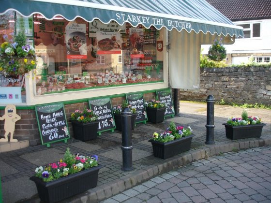 C&G Starkey butchers voted 'Best Pork Pie'.