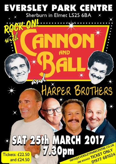 Rock on with Cannon & Ball