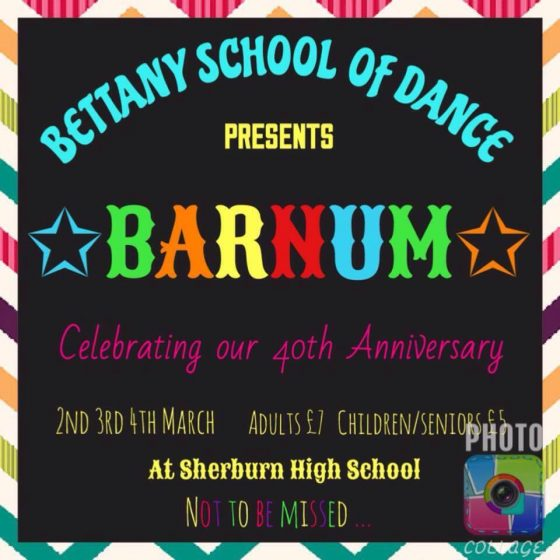 The Bettany School of Dance Barnum Show