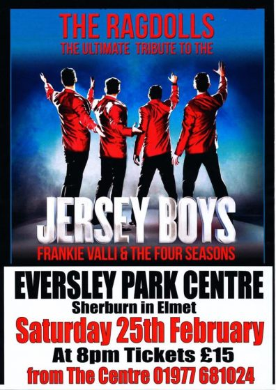 The Ragdolls – Ultimate Jersey Boys Tribute