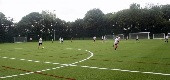 Sherburn High School's 3G Pitch Opens