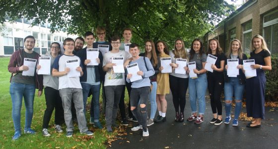 Sherburn High A-Level Results