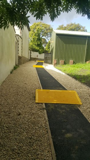 New Path at Scout Hut