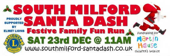 South Milford Santa Dash Details