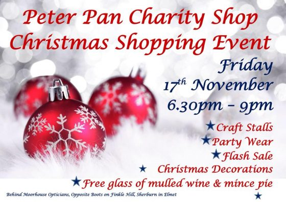 Peter Pan's Christmas Shopping Event