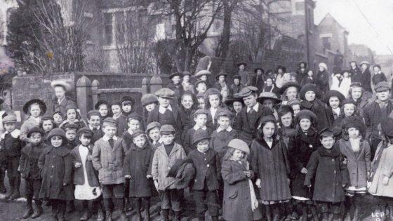 old girls school students photo