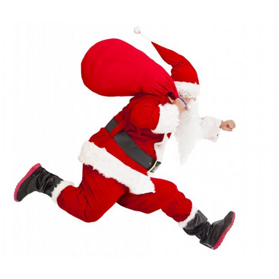 Annual South Milford Santa Dash