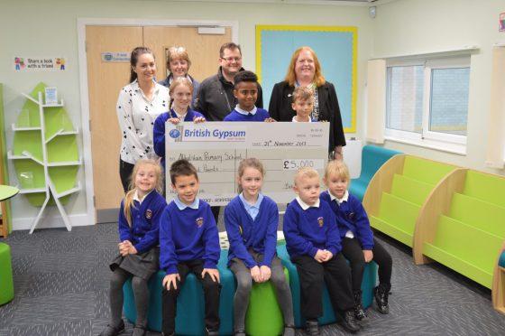 British Gypsum Donates £5,000 to Local School