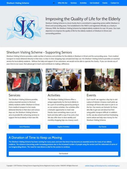 Sherburn Visiting Scheme Goes Digital