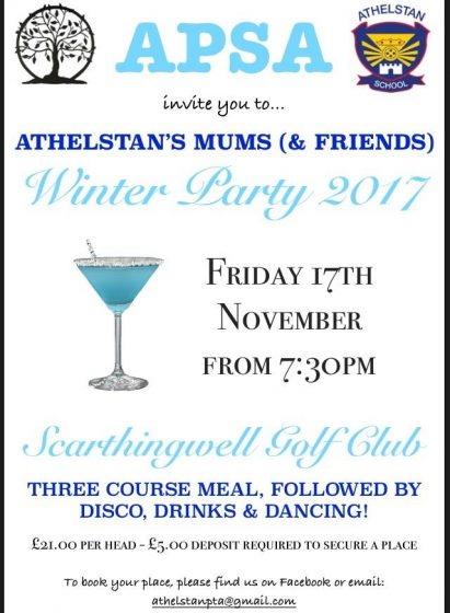 Athelstan APSA Winter Party