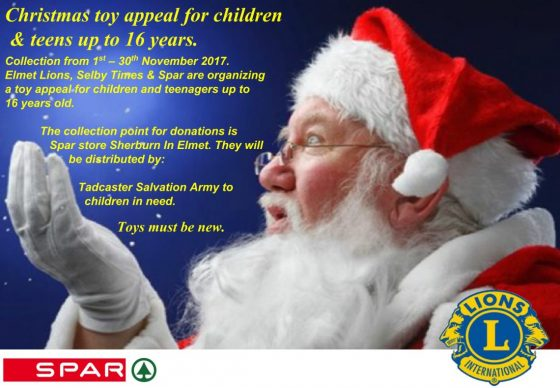 Christmas Toy Appeal for Children