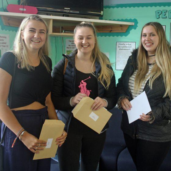 Sherburn High School Celebrates Stunning Progress for Sixth Form