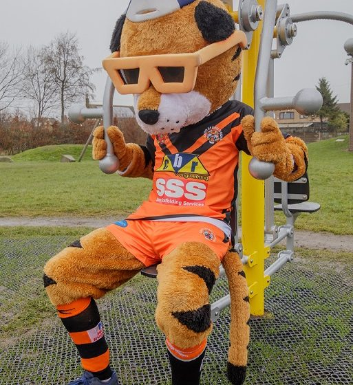 Sherburn Outdoor Gym Official Opening