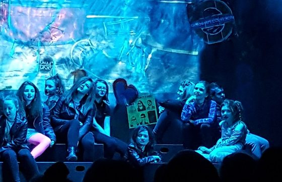 We Will Rock You Performance by Sherburn High School