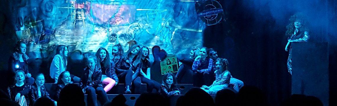 we will rock you dance performance by sherburn high school