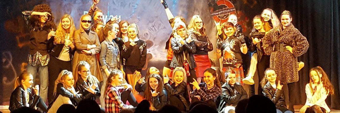 we will rock you dance performance sherburn high school