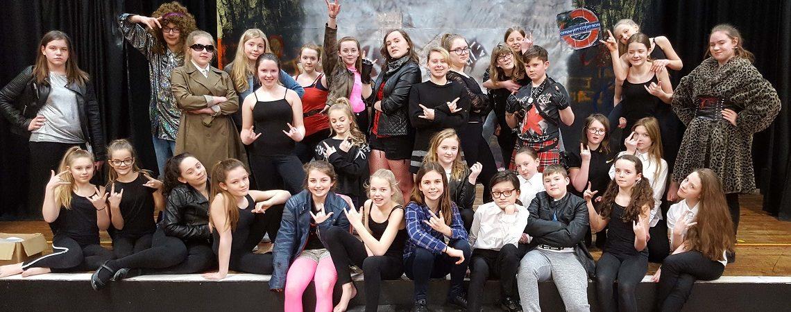 we will rock you dance rehersal sherburn high