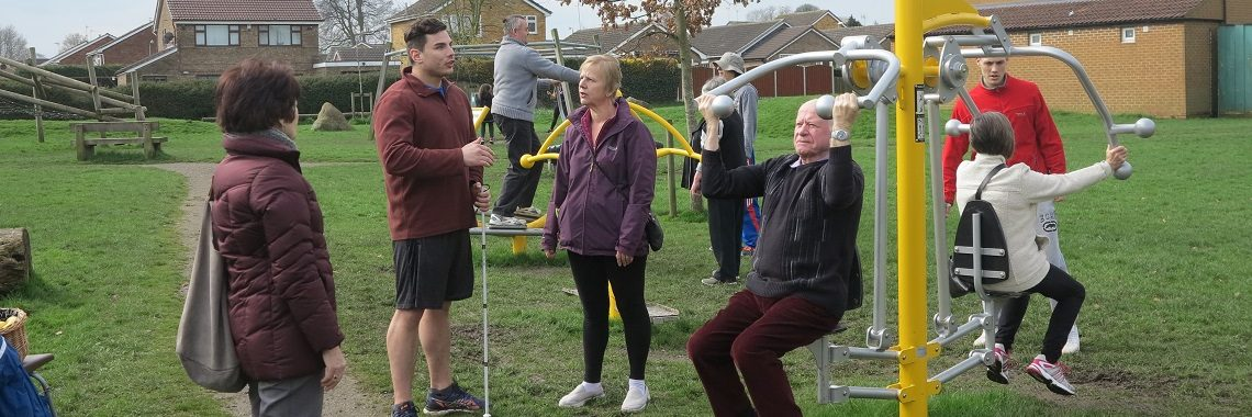Free Instructor-led Training Sessions for Sherburn's Outdoor Gym