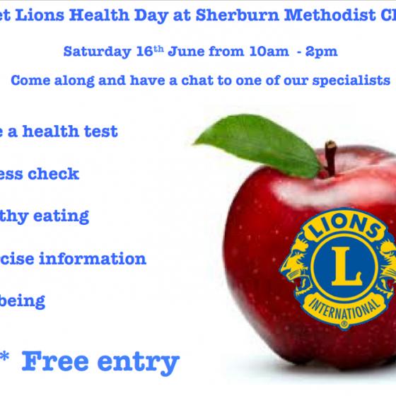 Elmet Lions Health Day