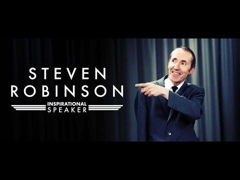Steven Robinson – Renowned Inspirational Speaker