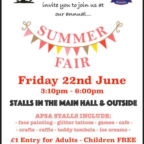 Athelstan Primary School Summer Fair