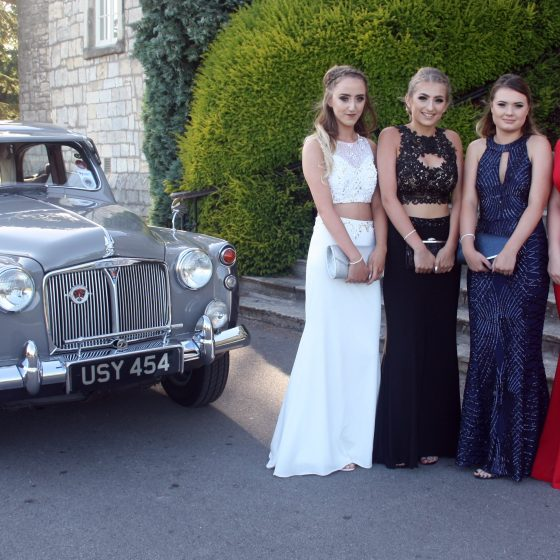 The end of an era: Sherburn High Prom!