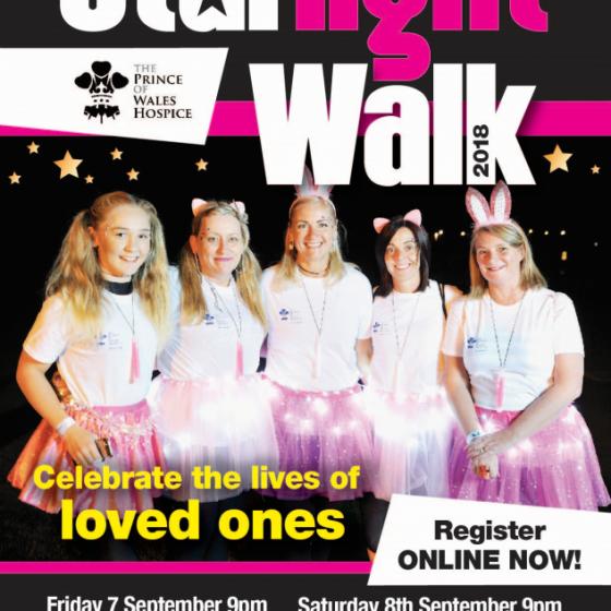 Prince of Wales Starlight Walk