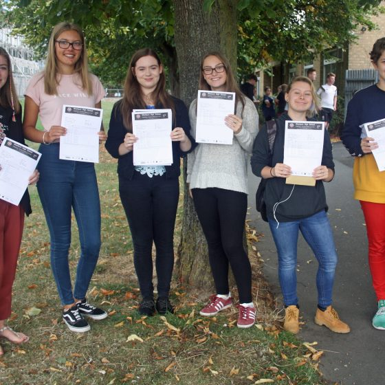 Sherburn High School 2018 Results: Outstanding Results!