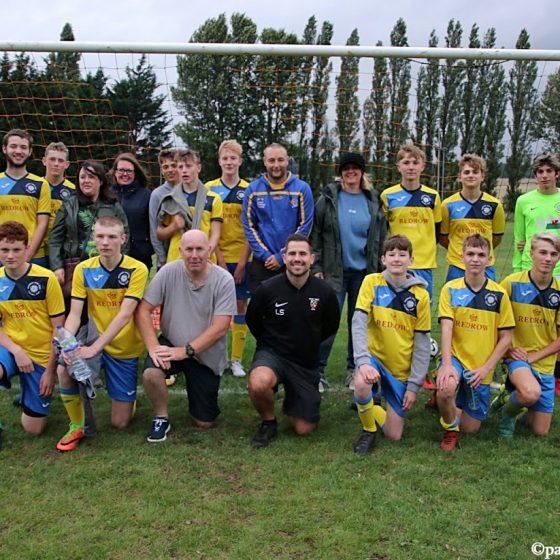 #TeamSherburn football match raises £1000 for Sherburn High School PE Department