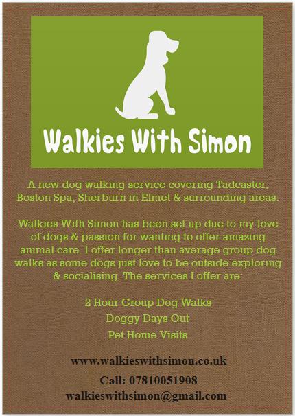 Walkies With Simon