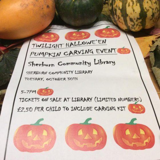 Twilight Halloween Pumpkin Carving Event
