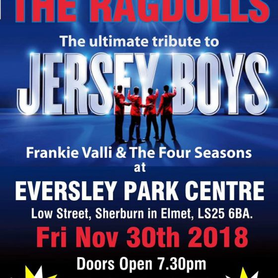 The Jersey Boys Are Back- CANCELLED!