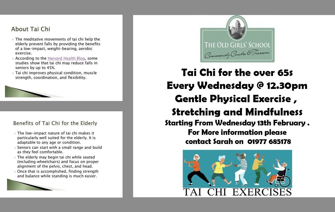 Tai Chi for Over 65's