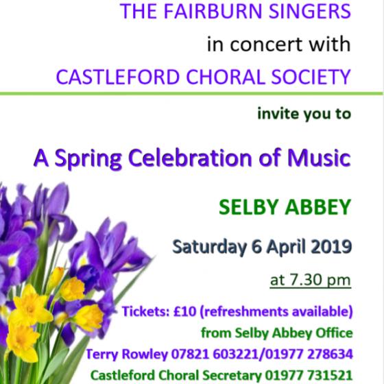 Fairburn Singers Spring Concert