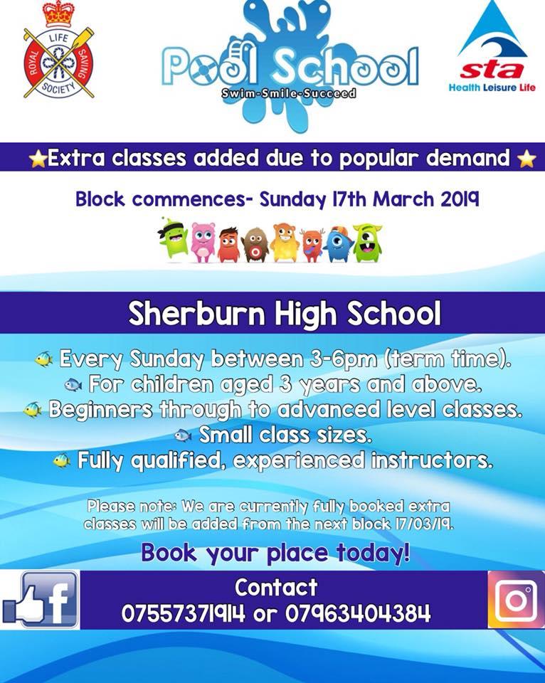 Pool School New Term