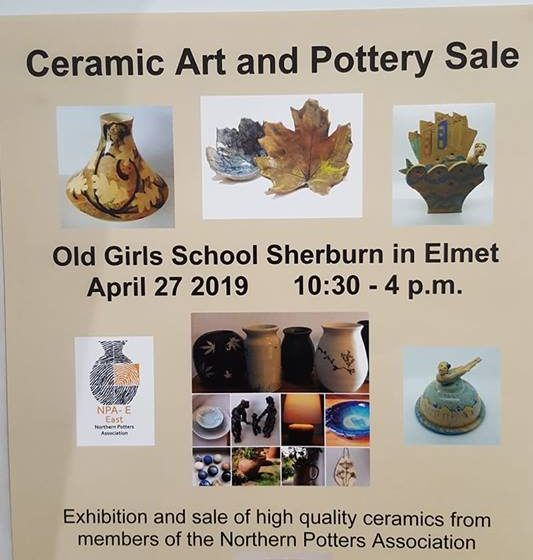 Ceramic Art and Pottery Display