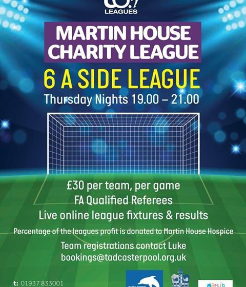 Tadcaster's Martin House Charity Football League