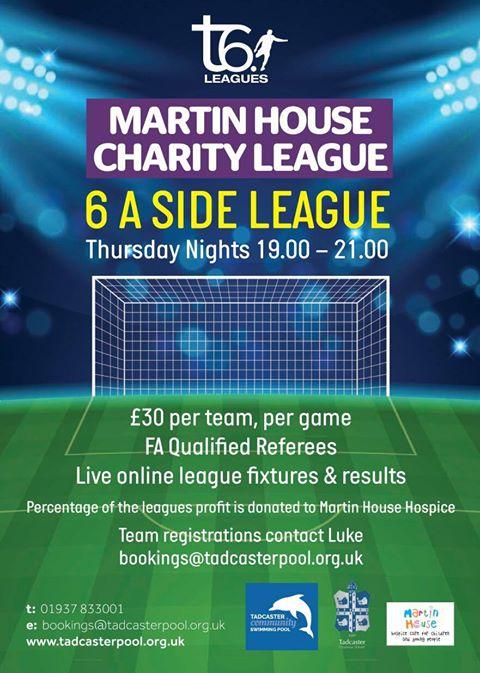 Tadcaster's Martin House Charity Football League