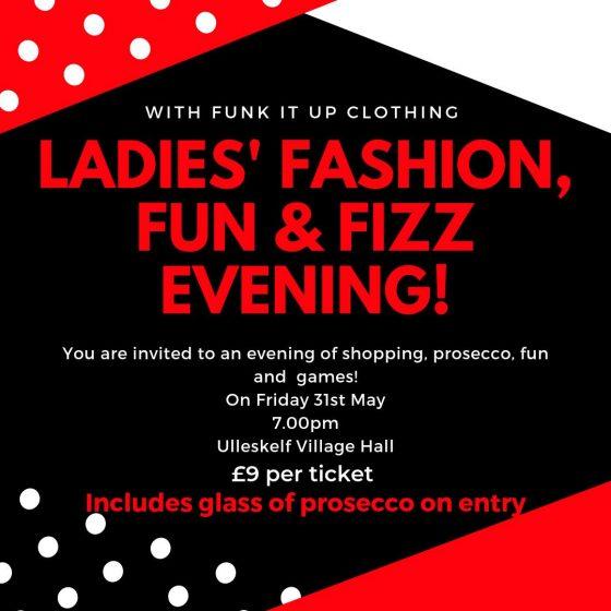 Fashion, Fun & Fizz Evening