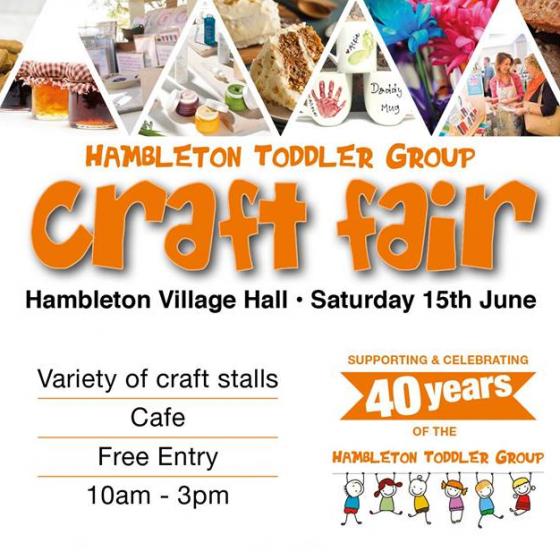 Hambleton Toddler Group Craft Fair
