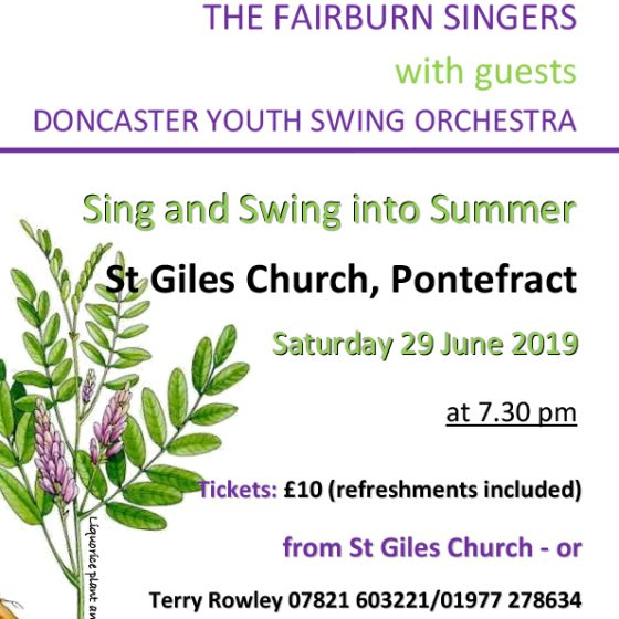 The Fairburn Singers – Sing and Swing into Summer