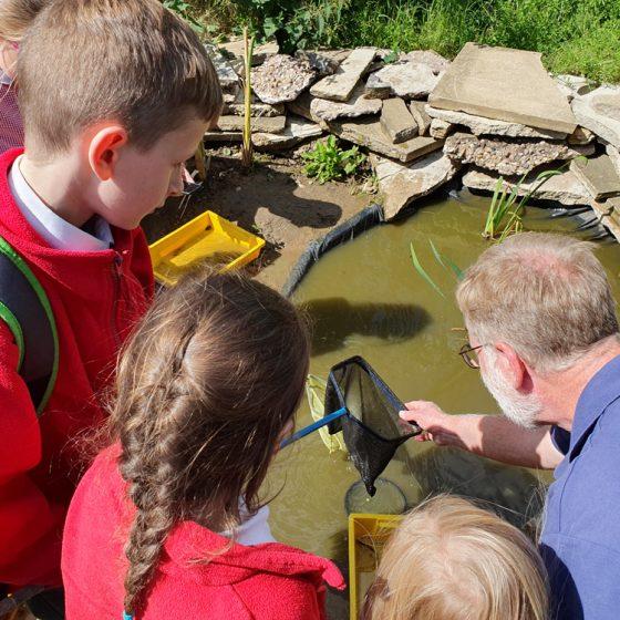 Sherburn Primary School Garden opening