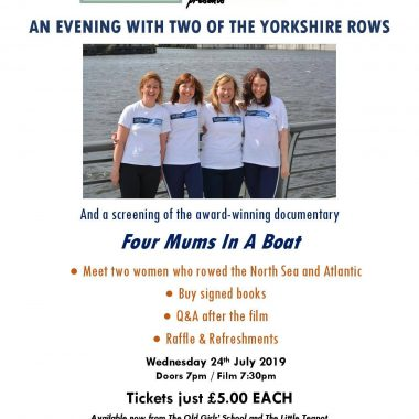 An evening with two of the Yorkshire rows