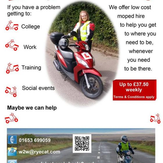 Wheels 2 Work – Moped Hire