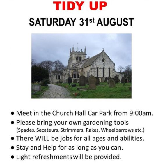 All Saints Church – Grounds Tidy Up