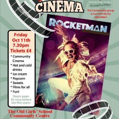 Sherburn Community Cinema - Rocketman