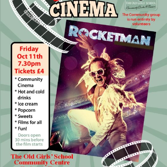 Sherburn Community Cinema – Rocketman