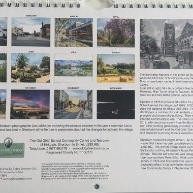 Sherburn in Elmet 2020 Calendar