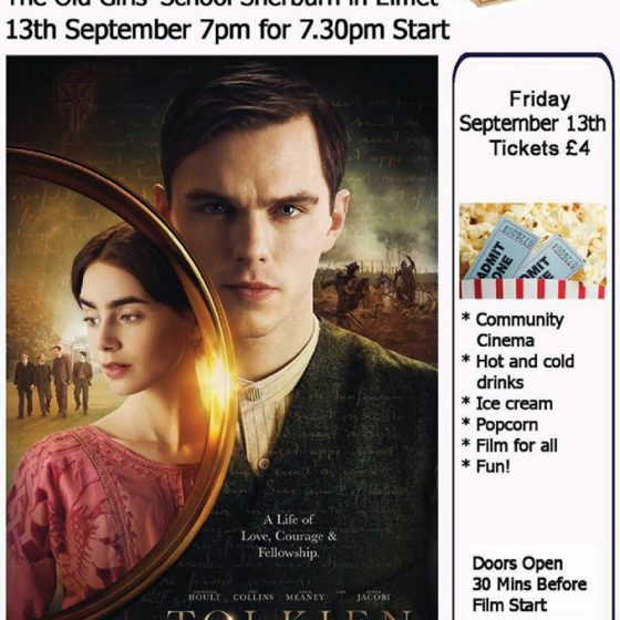 Sherburn Community Cinema – Tolkien