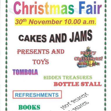 All Saints' Church - Christmas Fair